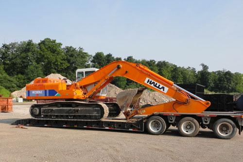 Halla teile excavator für Bagger und Radlader